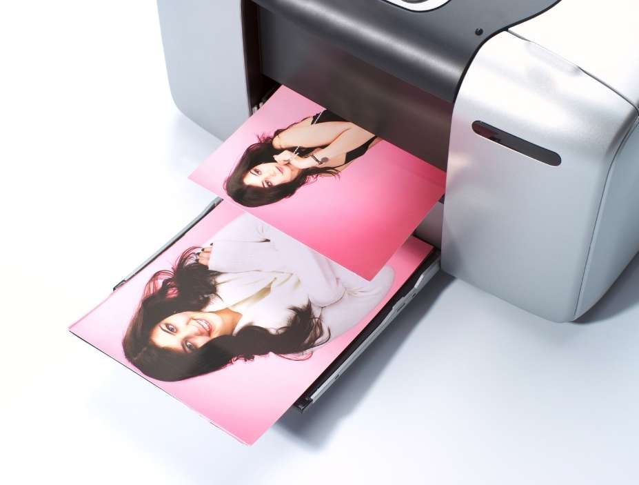 impresora imprimiendo fotos